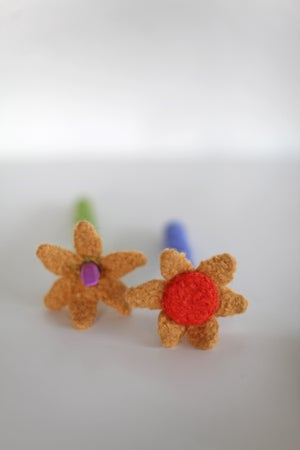 Image of Knit PDF - Felted Pen and Pencil Cozies Download