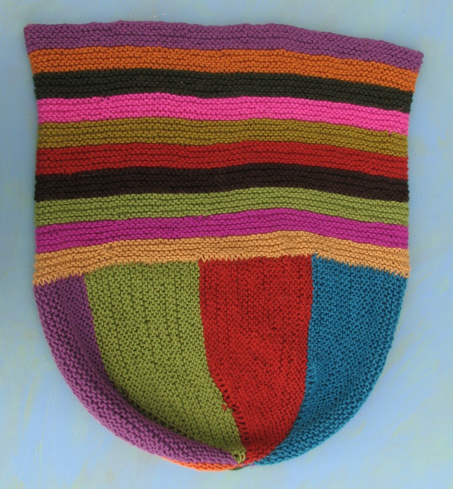 Knit Pdf Felted Market Bag Download Kristinnicholasdesigns