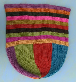 Image of Knit PDF - Felted Market Bag Download