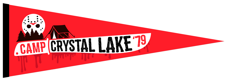 Image of Camp Crystal Lake Felt Pennant