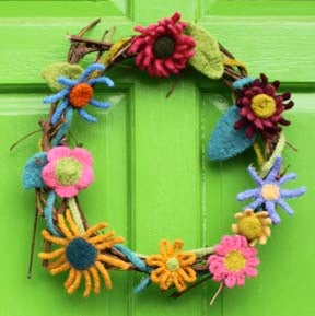 Knit PDF - Olympia's Knit and Crochet Felted Flowers Download