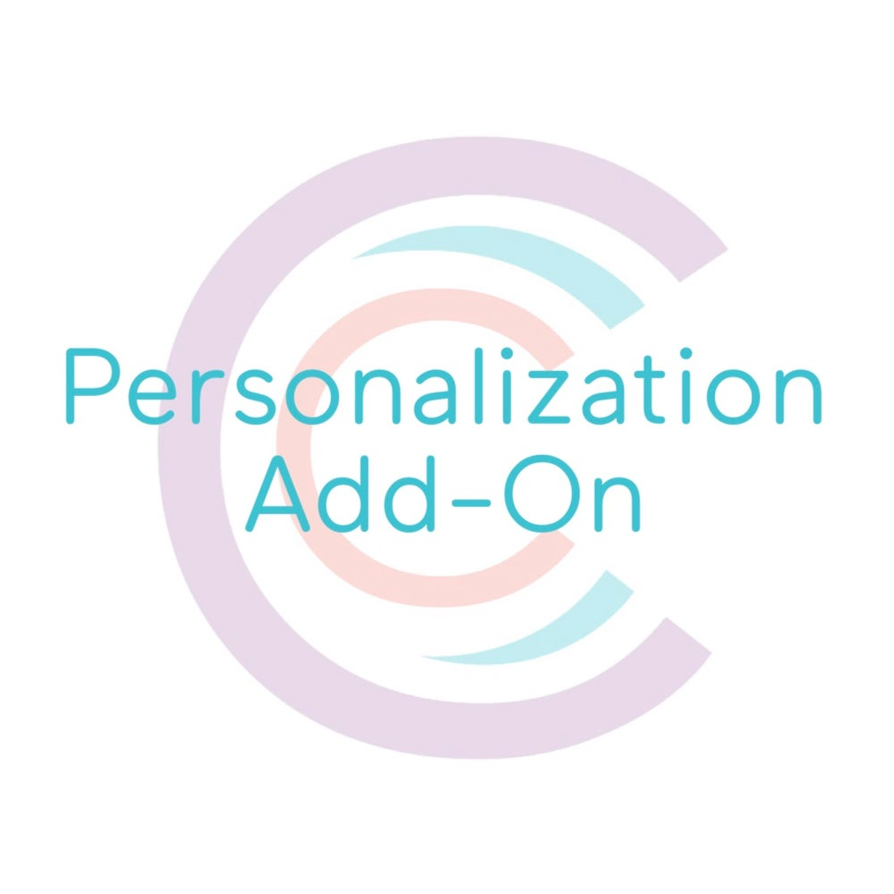 Image of Personalization Add-On