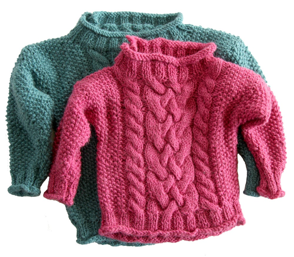 a3cad2ace3ce Knit PDF - Easy Aran for Kids and Babies Download ...