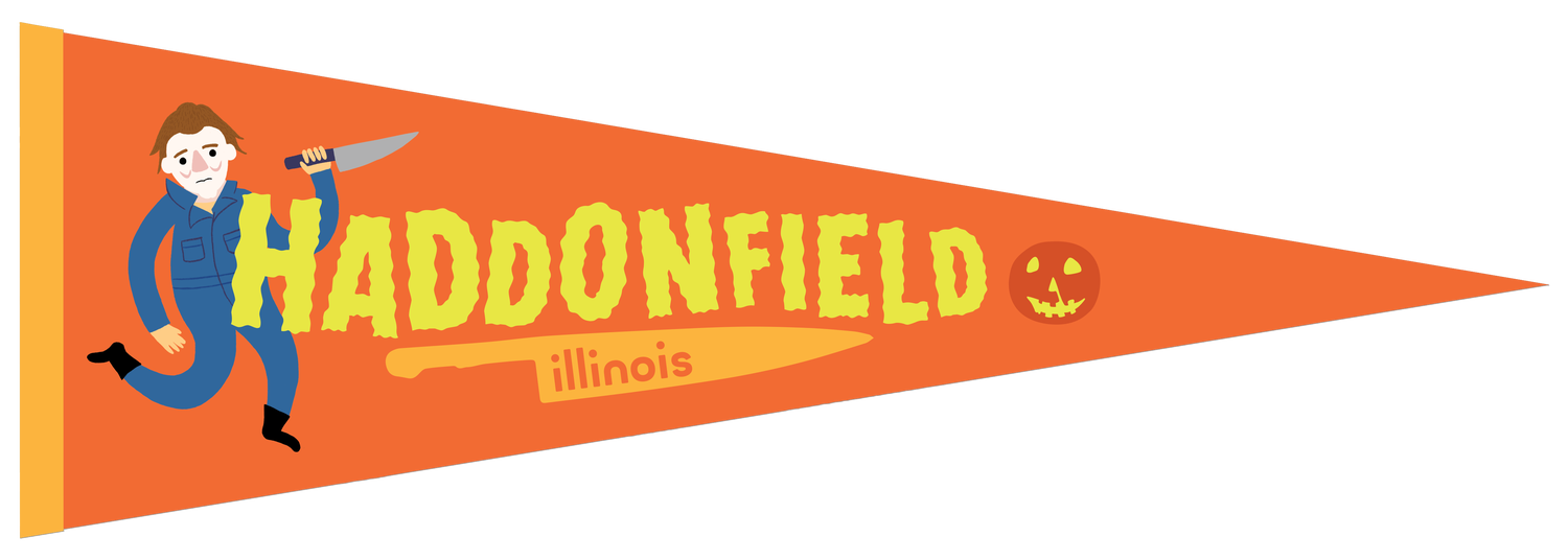 Image of Haddonfield Felt Pennant