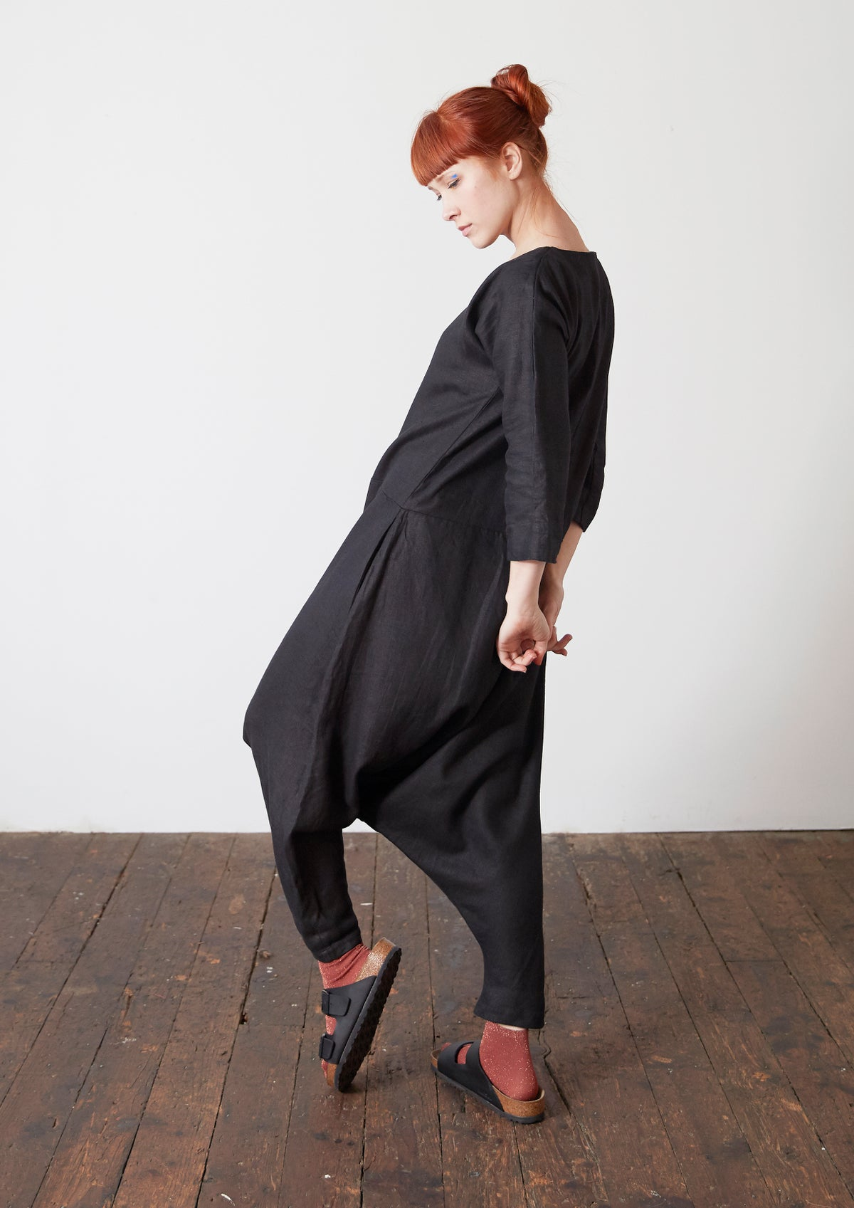 Image of Long Sleeve Jumpsuit