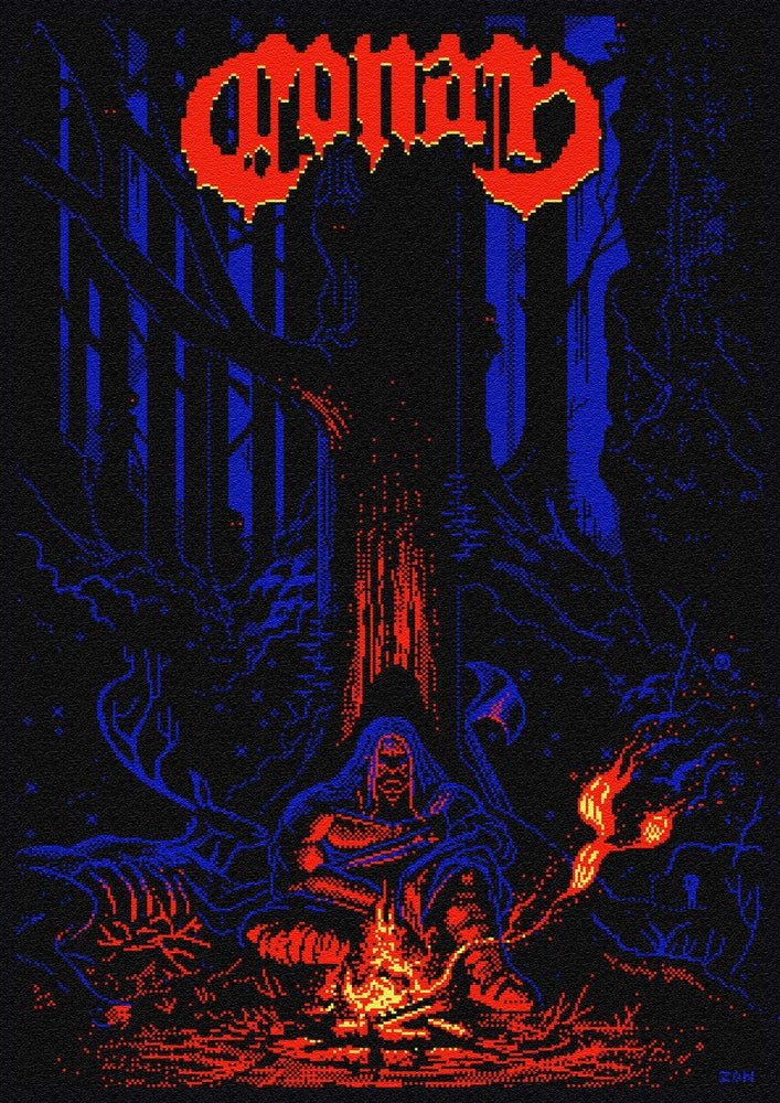 Image of 8 BIT POSTERS (A3+)