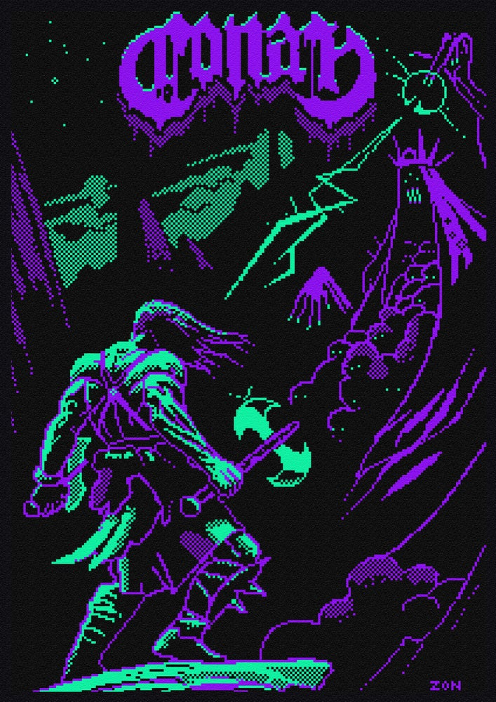 Image of 8 BIT POSTERS (A3)