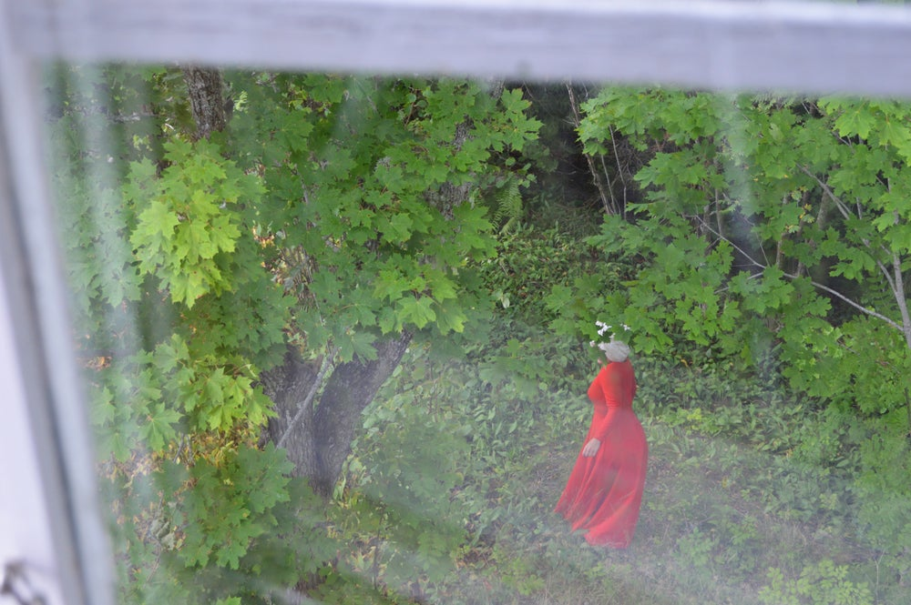 Image of Red Woman (From the Window)