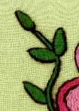 Image of Crewel Embroidery PDF - Pitcher Perfect Pillow Download