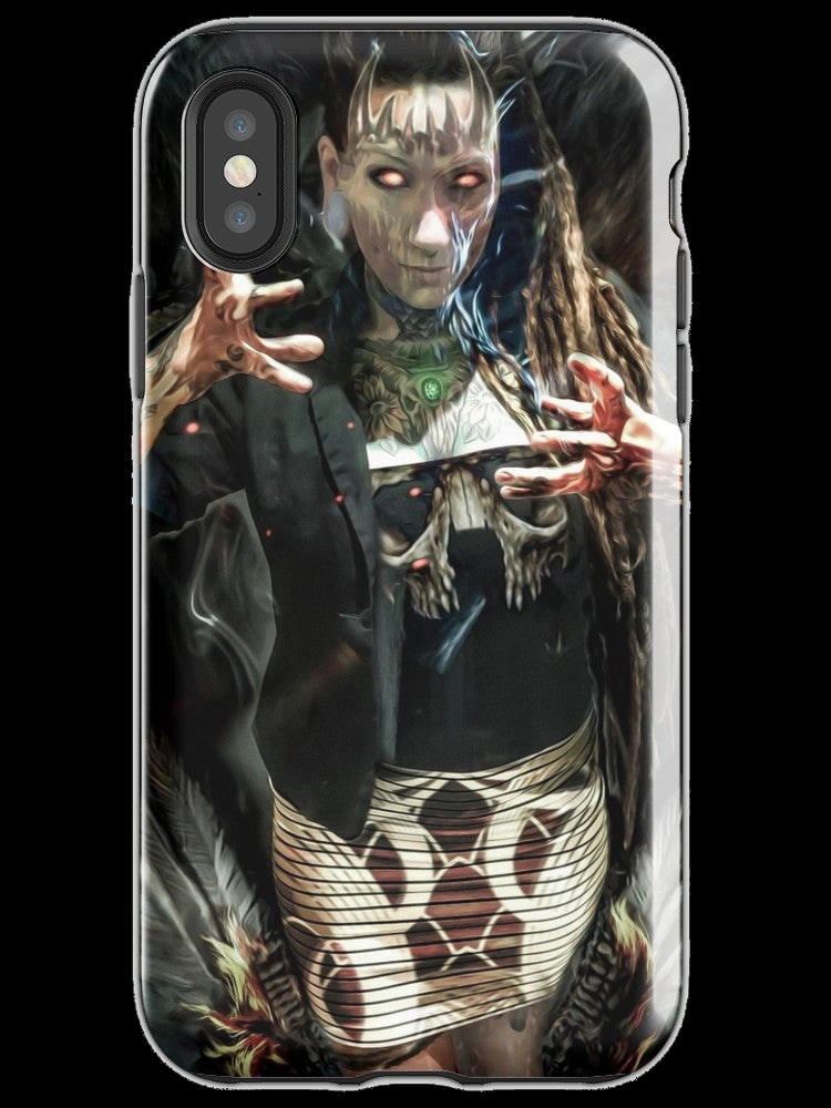 "Image of ""The Summoned"" iPhone Tough Case"