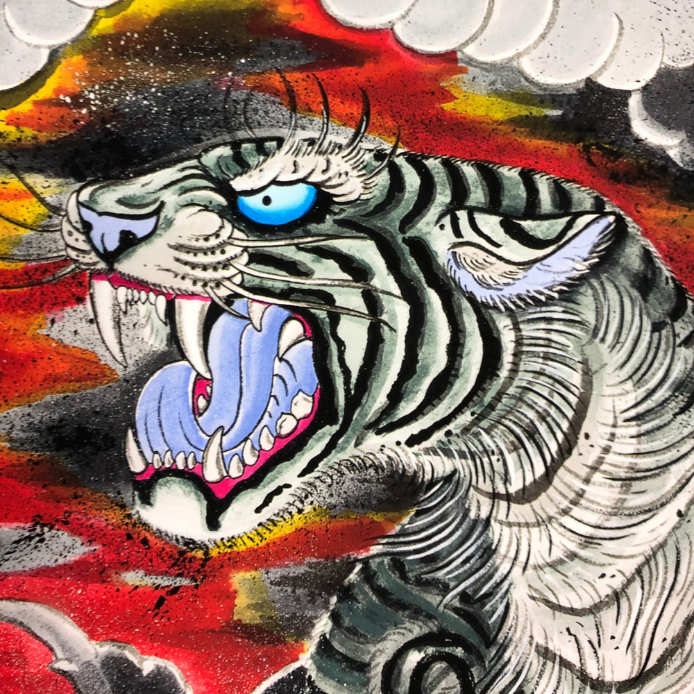 Image of TIGER GICLEE