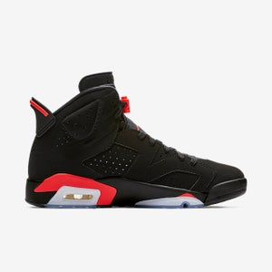 Image of Jordan 6 Black infrared 2019
