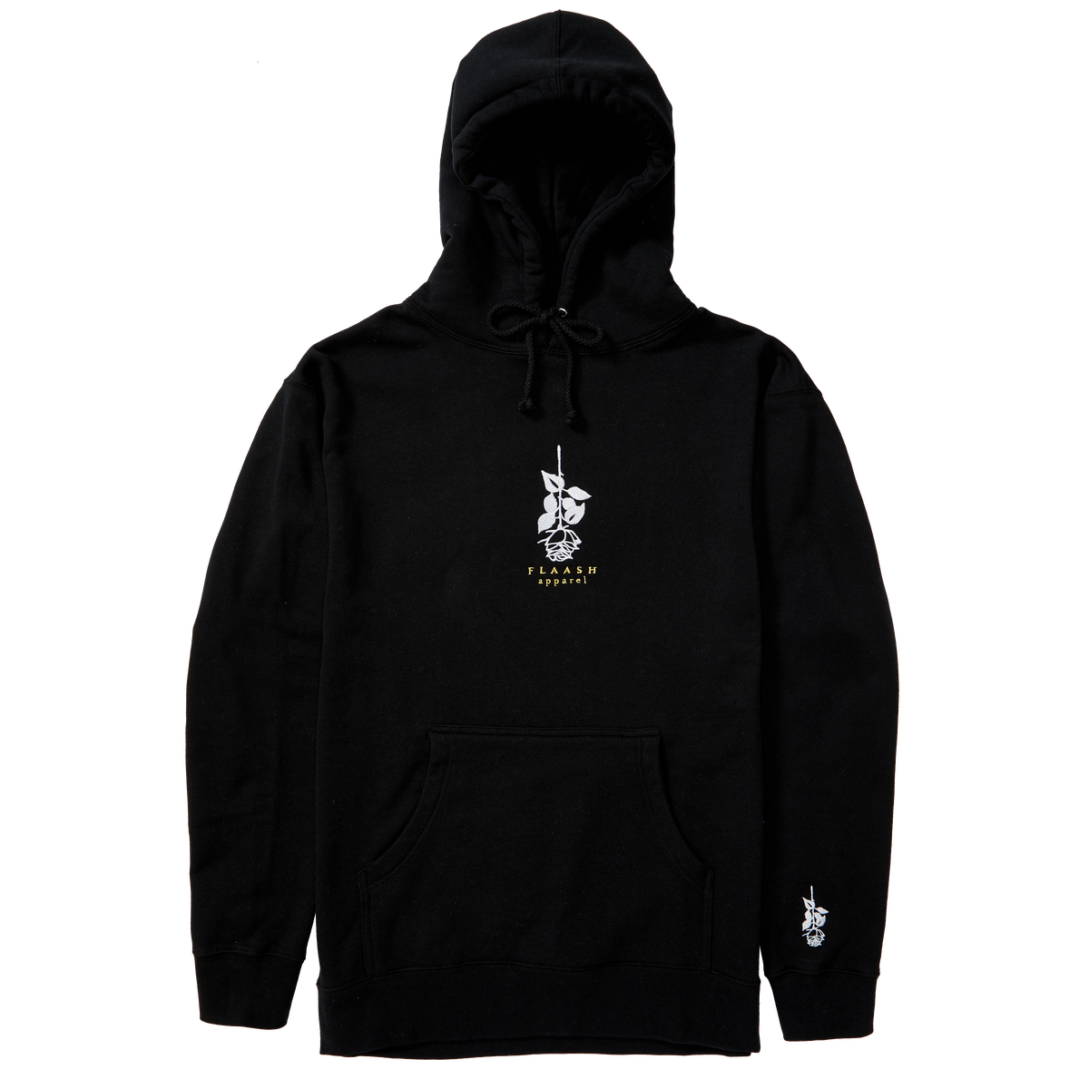 Image of Shinko Rose Hoodie Black