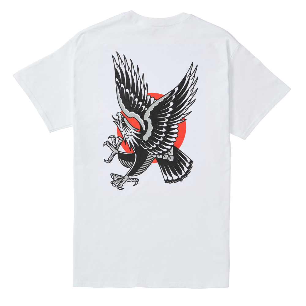 Image of Easy Eagle Tee - White