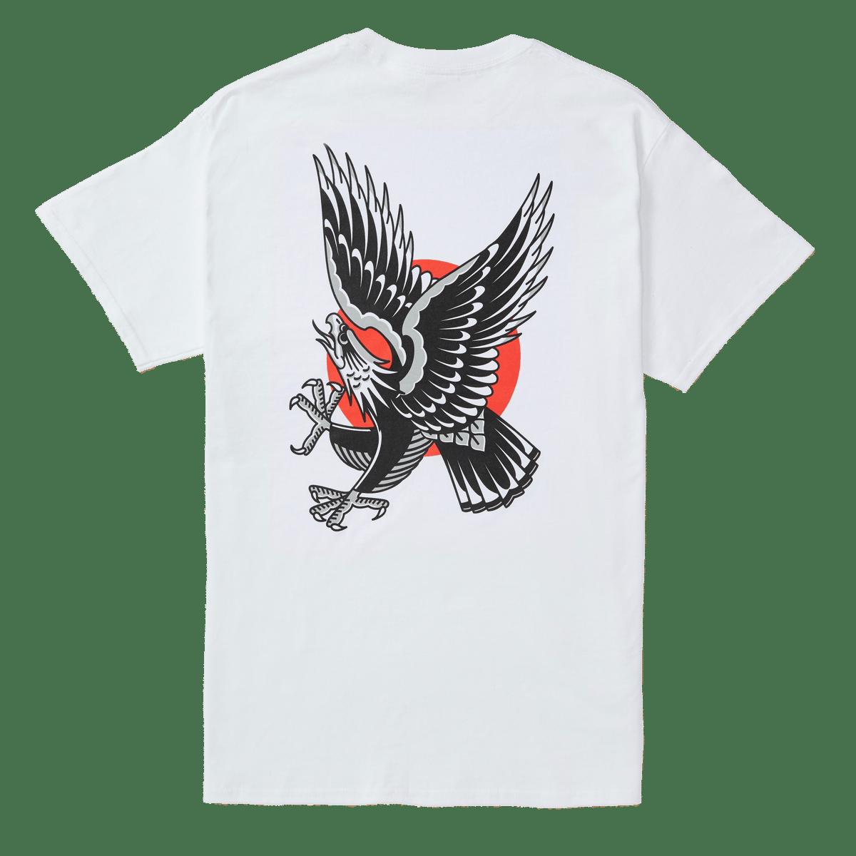Image of Easy Eagle Tee - White