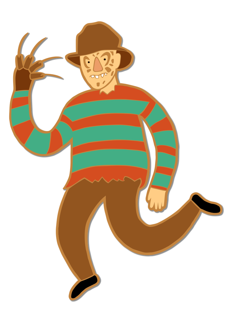 Image of Freddy Enamel Pin
