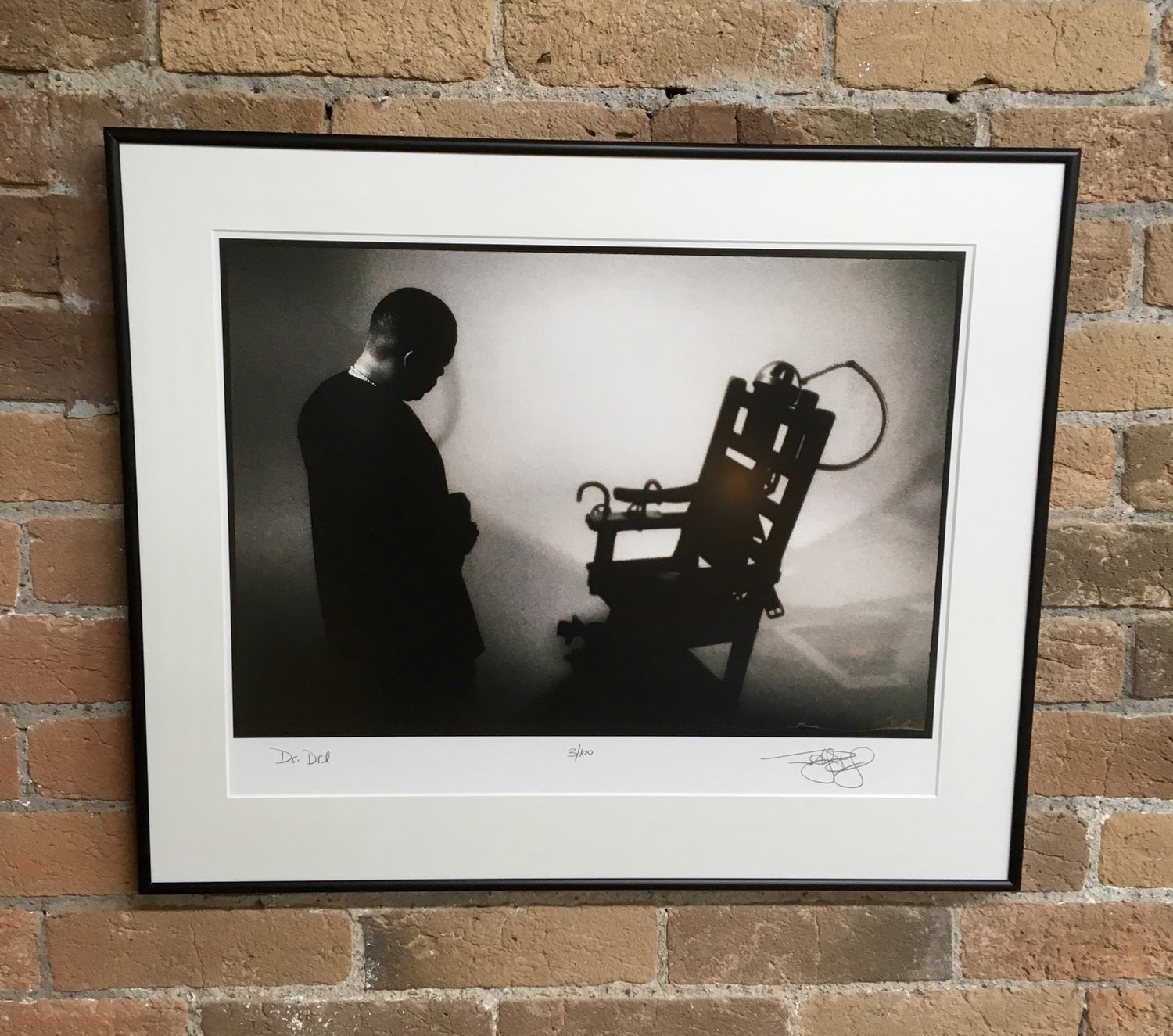 Image of Dr. Dre (Los Angeles, CA, 1996) :: Limited Edition Custom Framed Fine Art Print