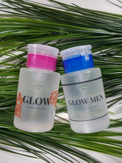 Image of GLOW-Facial Cleanser, Astringent, Toner