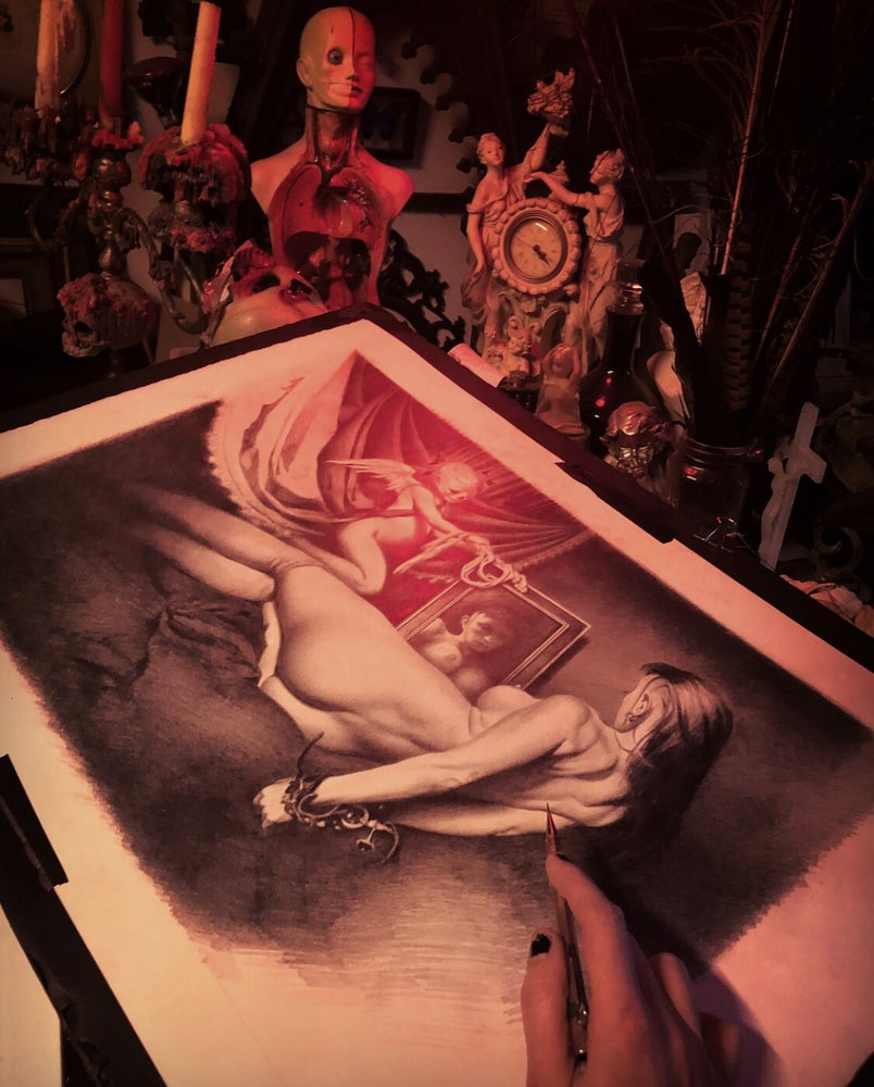 """Image of 'LA MARIPOSA NEGRA' - [ 'THE BLACK BUTTERFLY' ] 14 x 22"""" - Limited Edition Print"""