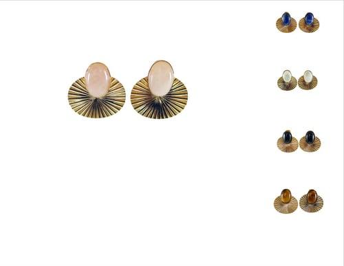 Image of Boucles Oreilles Phèdre 9 Coloris