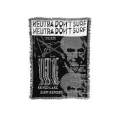 "Image of Silver Lake Surf Report ""Neutra Don't Surf"" Blanket"