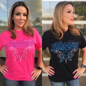 Image of Hatermade Pink or Black Ladies T-Shirt