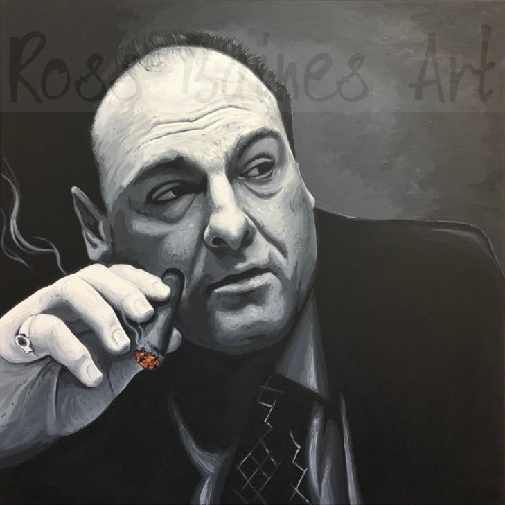 Image of TONY (2x2ft or 3x3ft canvas print)
