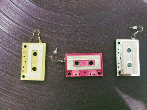 Image of Mixed Tape earrings