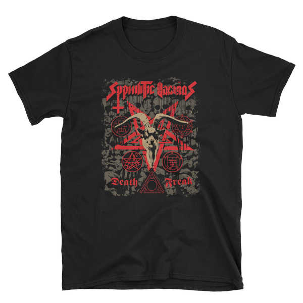 Image of Syphilitic Vaginas - Death Freak Shirt