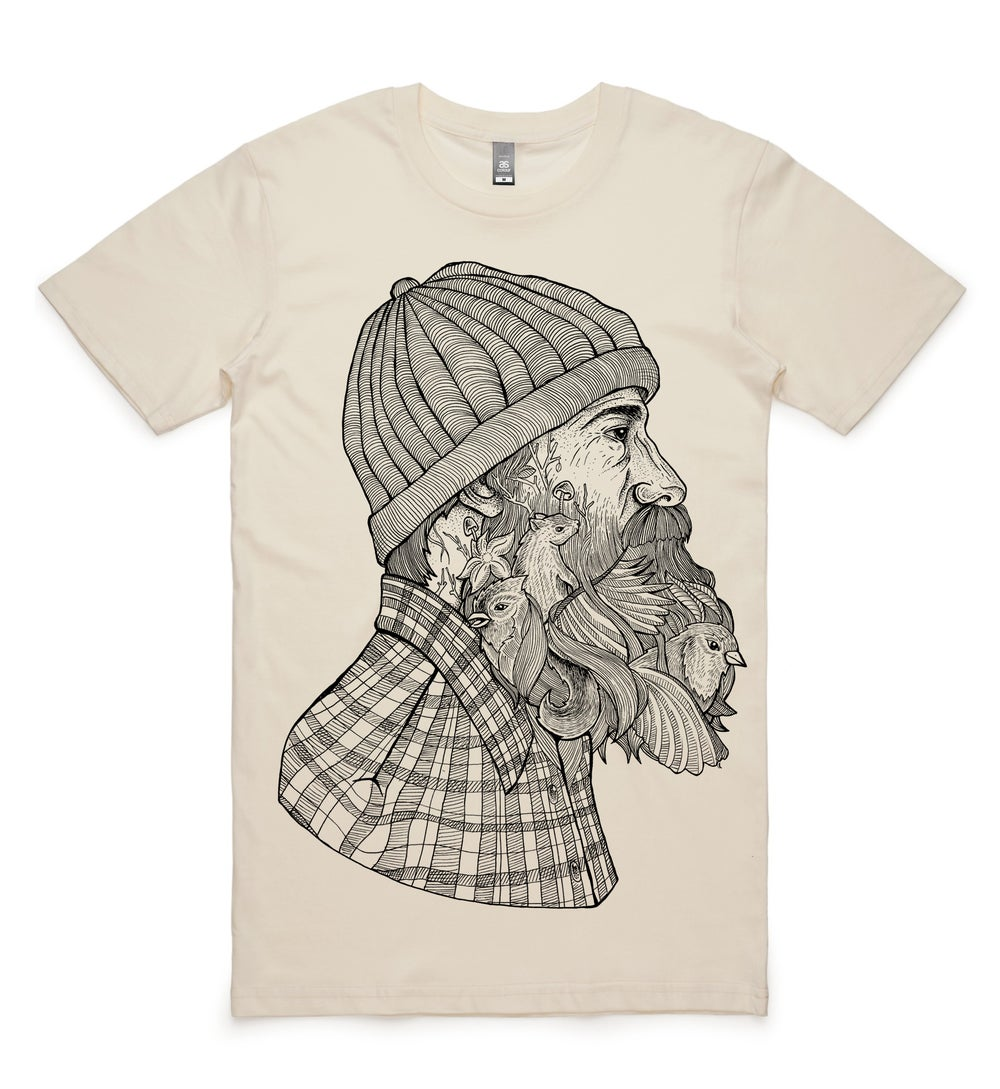 Image of Bearded Man Tee