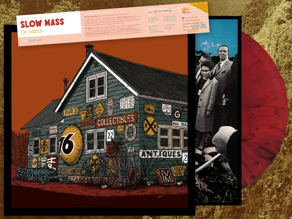 "Slow Mass ""On Watch"" 12"" LP • Vinyl Record (2nd Pressing • Deluxe Edition)"