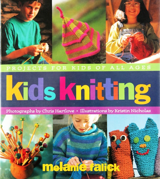 Image of Book - Kids Knitting