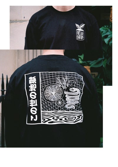 Image of 'Snakes on an (Astral) Plane' Long Sleeve
