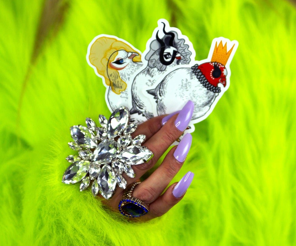 Image of Drag Pigeon Sticker Pack