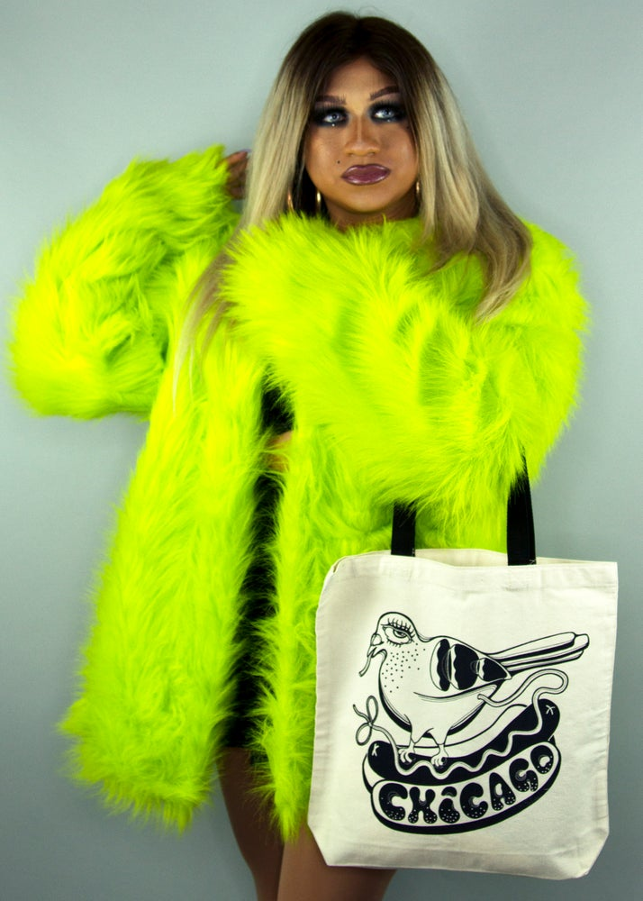 "Image of ""Chicago"" Pigeon tote"