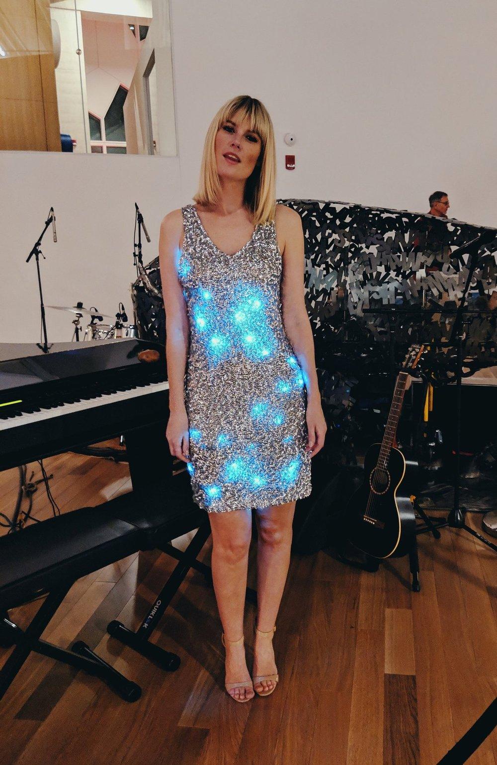 Image of Light Up Dress: Short Sequin Illuminated LED Dress