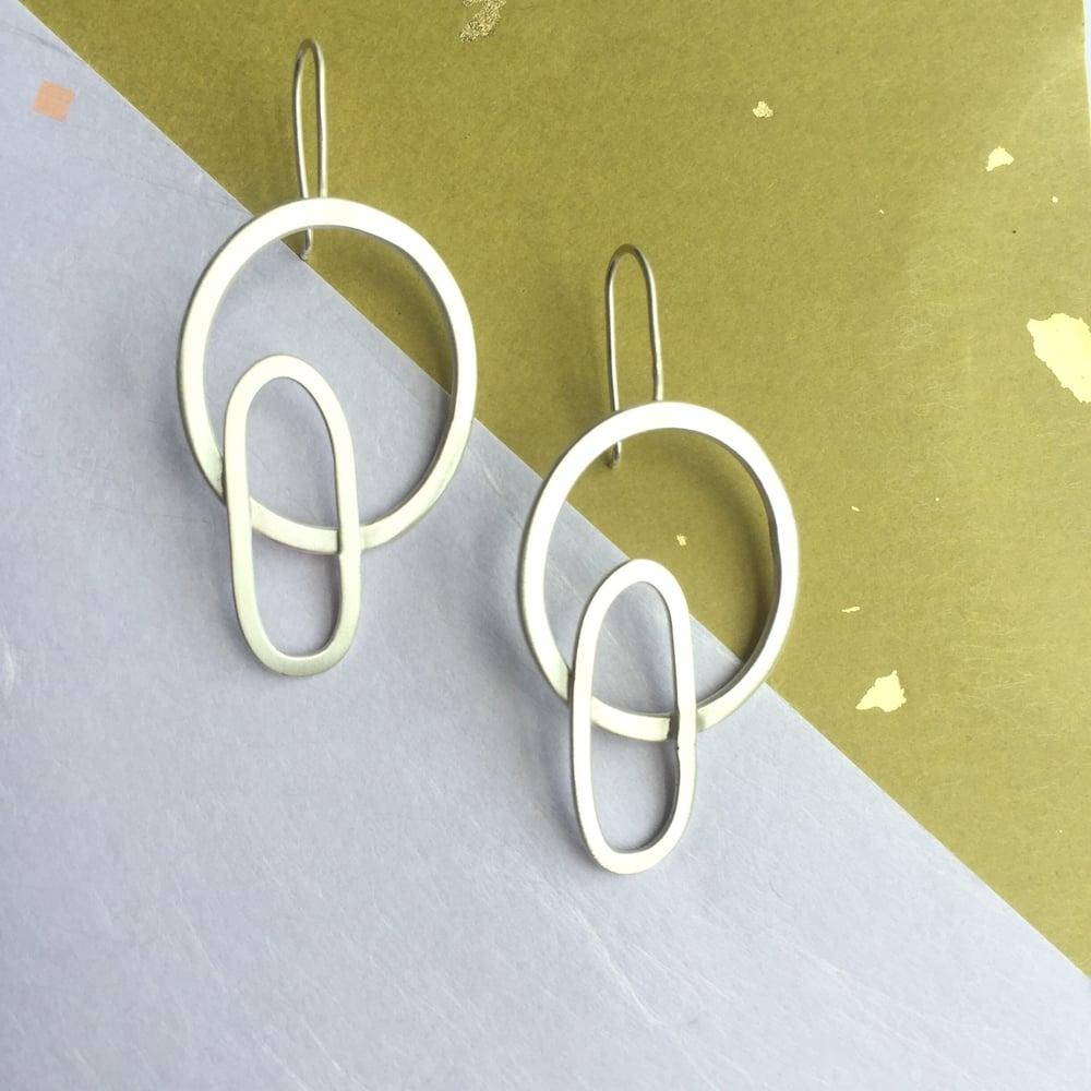 Image of Peggy hoop earring