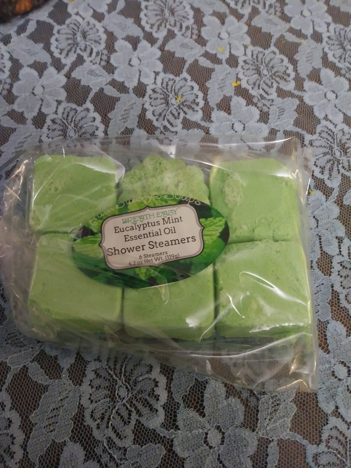 Image of Eucalyptus Mint Essential Oil Shower Steamers