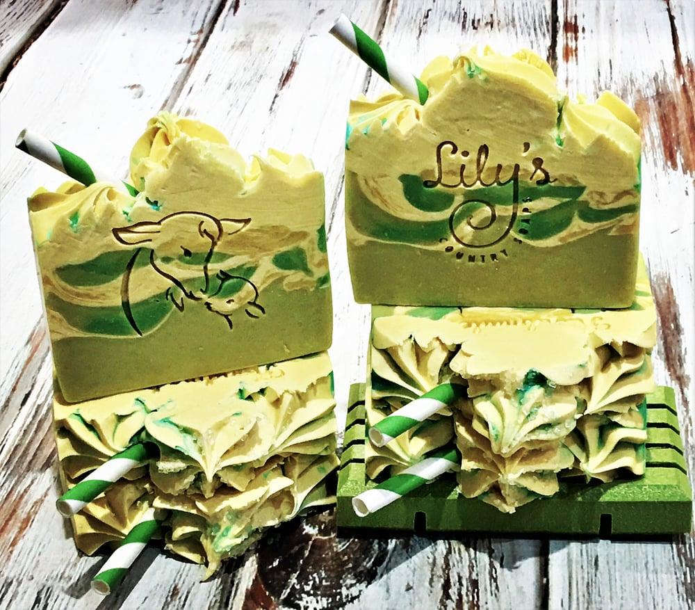 Image of Lemongrass Green Tea Goat Milk Soap