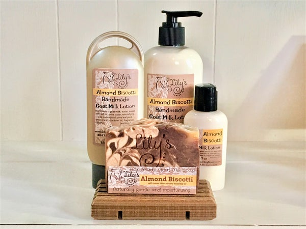 Image of Almond Biscotti Goat Milk Lotion
