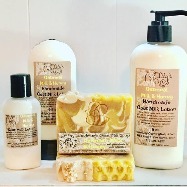 Image of Oatmeal Milk & Honey Goat Milk Lotion