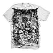 Image of Black Death Tee (White)
