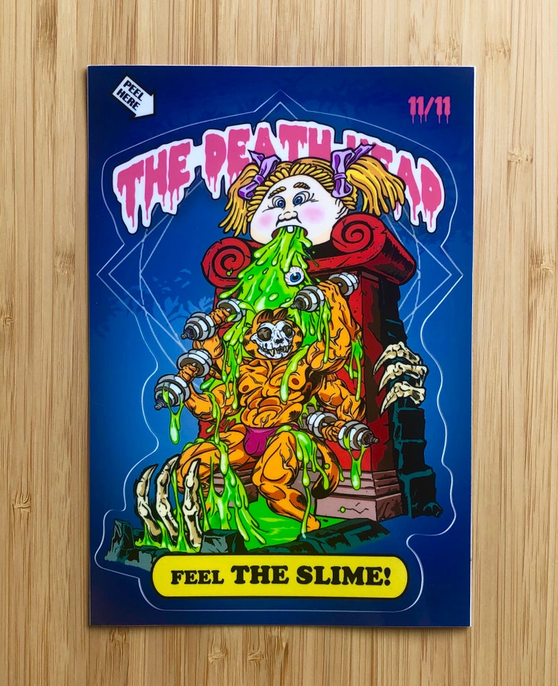 Image of Feel the Slime! Sticker Pack