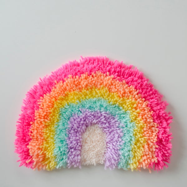 Image of Rainbow wall hanging #3