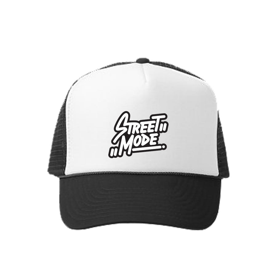 Image of Black Logo Trucker Hat