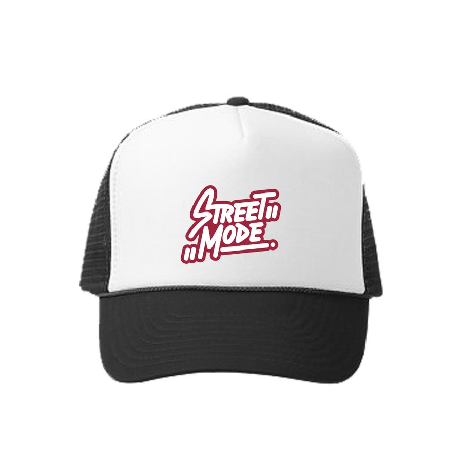 Image of Red Logo Trucker Hat