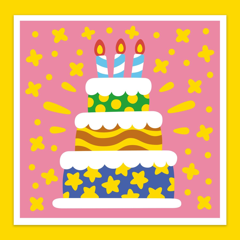Image of <b> Super Happy Birthday! </b> Greeting Card