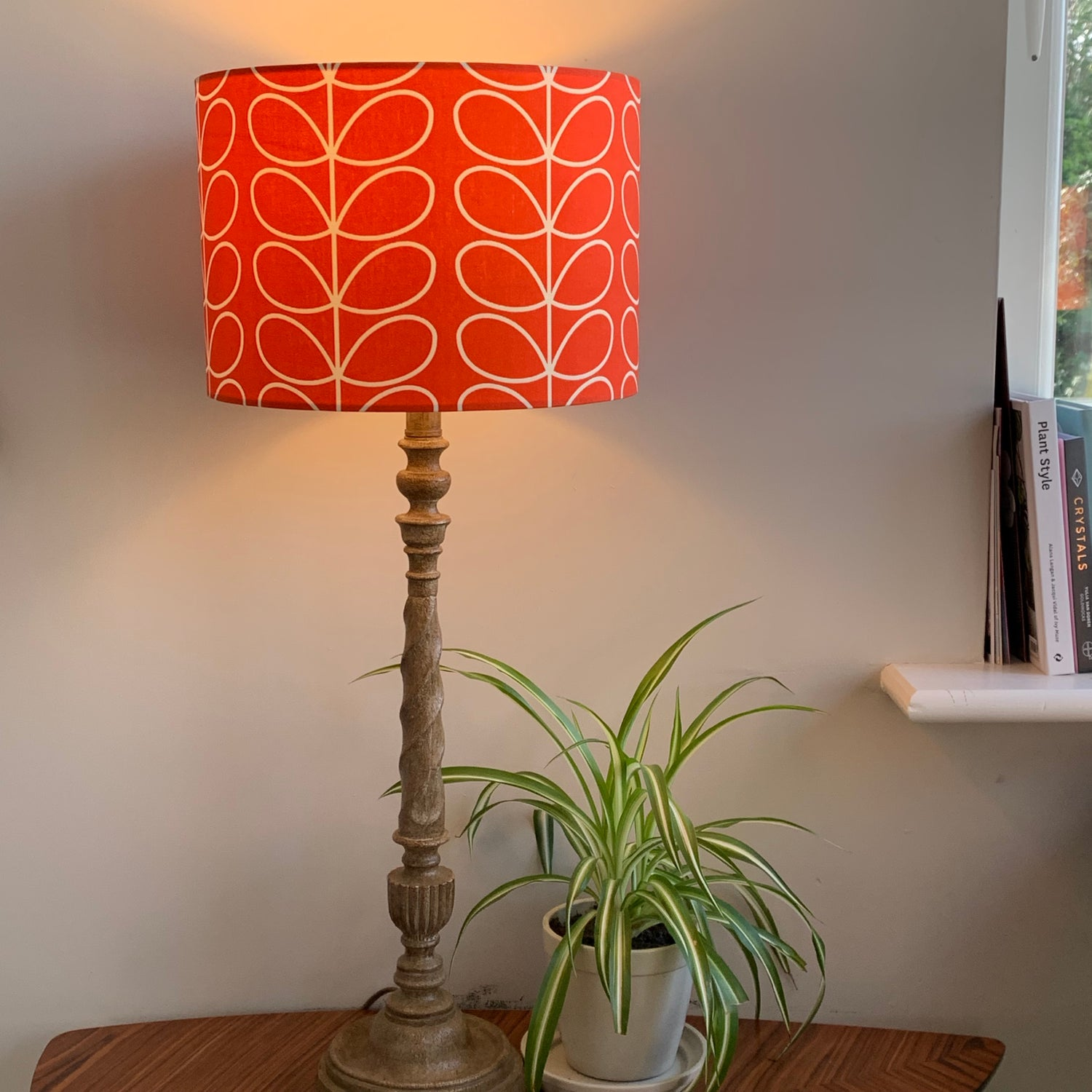 Image of Orla Kiely Linear Stem Tomato Shade