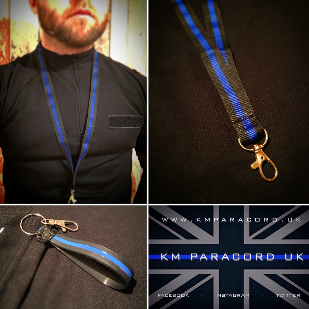 Image of KMP 'TBL' ID Lanyard & Key Fob Bundle