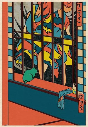 Image of 'Homage to Hiroshige' // Giclee print